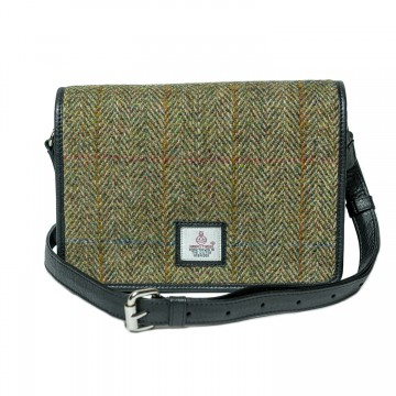 Maccessori Harris Tweed Shoulder Bag in Country Green