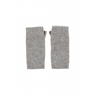 Cashmere Classic Wristwarmers - Light Grey