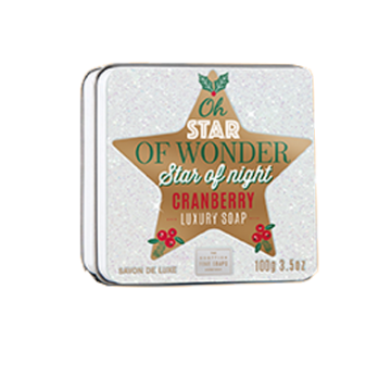 Star of Wonder Christmas Soap in a Tin