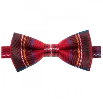 Stewart Royal Modern Lochcarron of Scotland Tartan Bow Tie