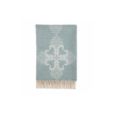 Johnston's of Elgin Talisman Throw - Glacier