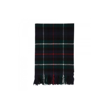 Lambswool Tartan Throw - MacKenzie