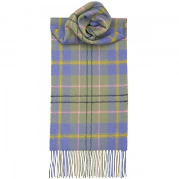 Taylor Ancient Tartan 100% Lambswool Scarf by Lochcarron