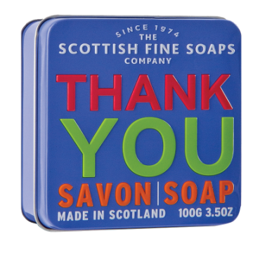 Thank You Soap in a Tin