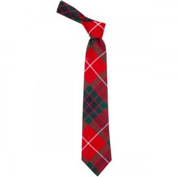Fraser Red Modern Tie