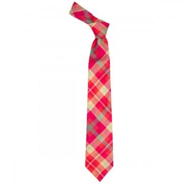 Highland Rose Tartan Tie