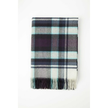 Johnston's of Elgin Cashmere Vintage Check Throw - Cromdale