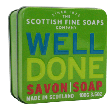 Well Done Soap in a Tin
