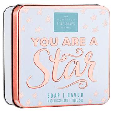 You are a Star Soap in a Tin