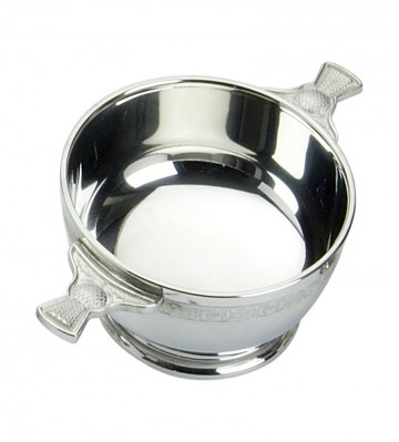 Edwin Blyde Thistle Collection Thistle Quaich Bowl