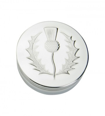 Edwin Blyde Thistle Collection Trinket Box 3D Thistle