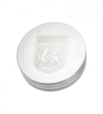 Edwin Blyde Trinket Box Welsh Shield