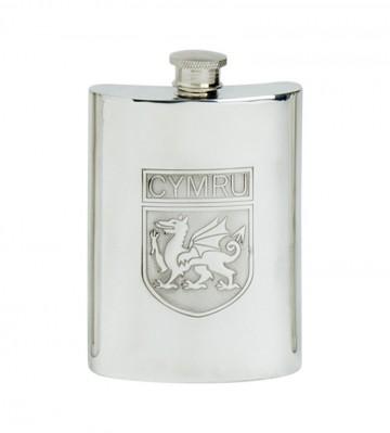Edwin Blyde Welsh Shield Kidney Flask
