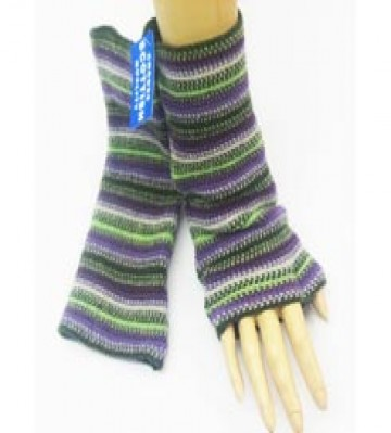 The Scarf Company 100% Lambswool Ladies Wristlets - Olive