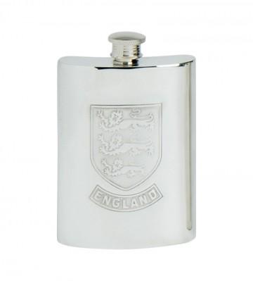 Edwin Blyde England Shield Kidney Flask
