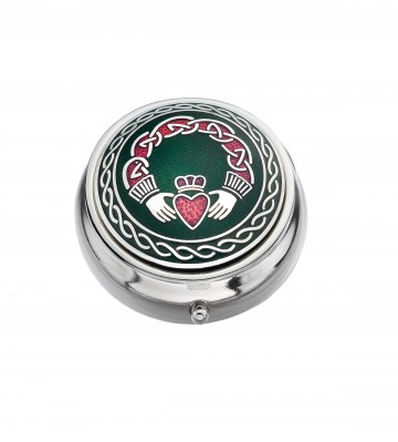 Claddagh Small Pill Box