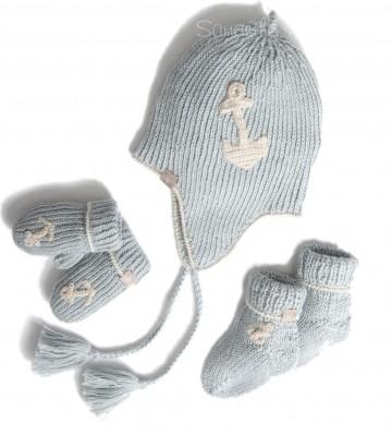 Alpaca Blue Baby Boy Gift Set