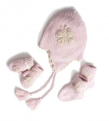 Alpaca Pink Baby Girl Gift Set