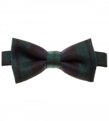Black Watch Modern Lochcarron of Scotland Tartan Bow Tie