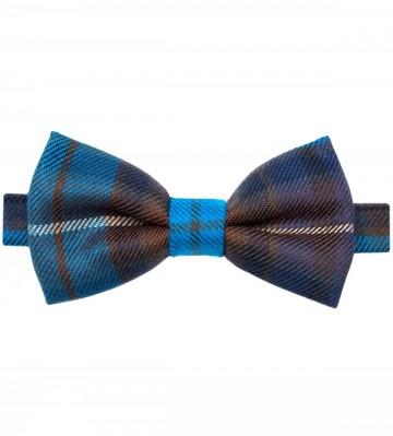 Buchanan Blue Lochcarron of Scotland Tartan Bow Tie