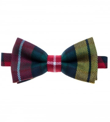 Buchanan Modern Lochcarron of Scotland Tartan Bow Tie