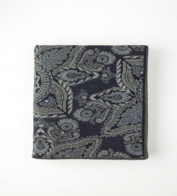 Johnston's of Elgin Cathedral Throw - Navy