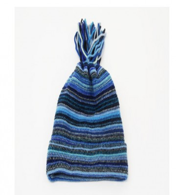Blue Children's Lambswool Hat from The Scarf Company