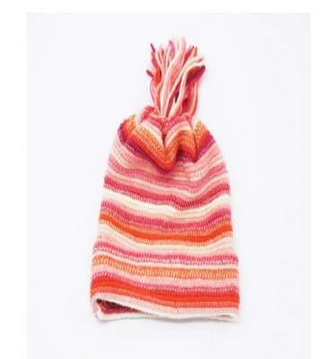 Pink Children's Lambswool Hat from The Scarf Company