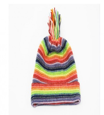 Rainbow Children's Lambswool Hat from The Scarf Company
