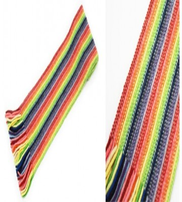 Rainbow Children's Lambswool Scarf from The Scarf Company