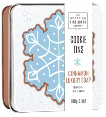Cinnamon Cookie Soap in a Tin