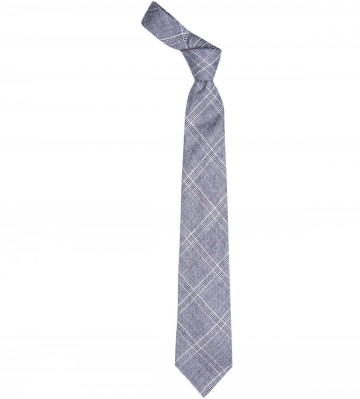 Dornoch Check Lochcarron of Scotland Tweed Wool Tie