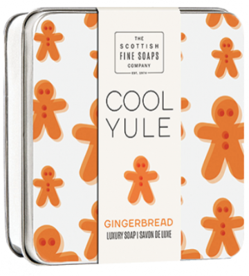 Gingerbread Cool Yule Soap in a Tin