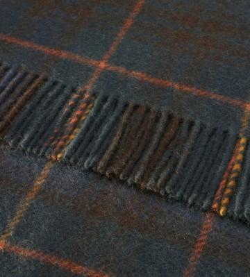 Bronte by Moon 100% Pure New Wool Tartan Throw - Antique Hunting Stewart