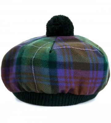 Isle of Skye Tartan Brushed Wool Tam