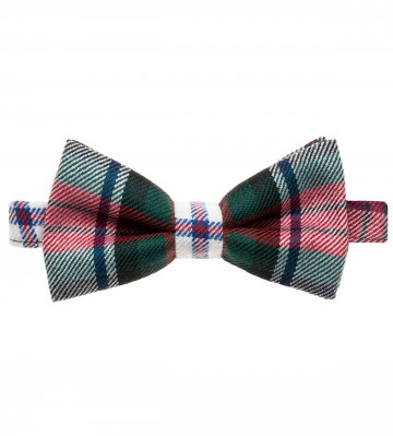 MacDuff Dress Modern Lochcarron of Scotland Tartan Bow Tie