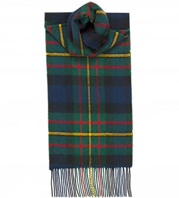 MacLaren Modern Tartan 100% Lambswool Scarf by Lochcarron