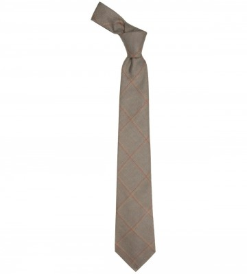 Oban Check Lochcarron of Scotland Tweed Wool Tie