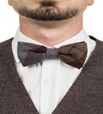 Official Outlander Tartan Wool Bow Tie