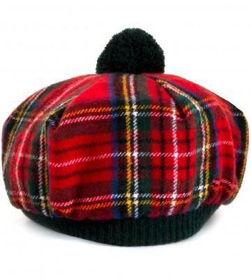 Royal Stewart Tartan Brushed Wool Tam