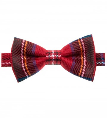 Stewart Royal Modern Lochcarron of Scotland Tartan Bow Tie