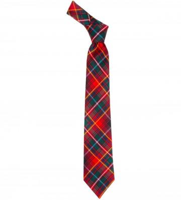 Innes Red Modern Tartan Tie